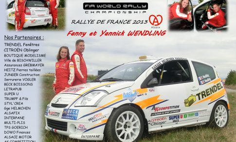 Le Rallye de France est en Alsace !